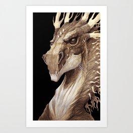 Dragon Portrait Art Print