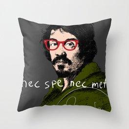 nec spe nec metu Throw Pillow