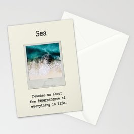 Small Emotional Dictionary: Sea Stationery Cards