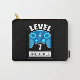 7th Birthday Gamer 7 Years Gaming Gift Carry-All Pouch