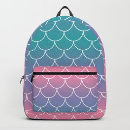 Pastel Mermaid Backpack