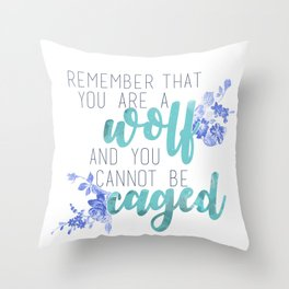 ACOTAR - Wolf Throw Pillow