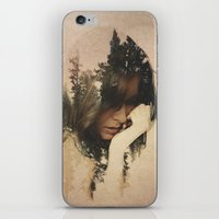 lost iPhone & iPod Skins featuring Lost In Thought by Davies Babies