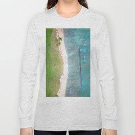 Hawaiian Shores Long Sleeve T-shirt