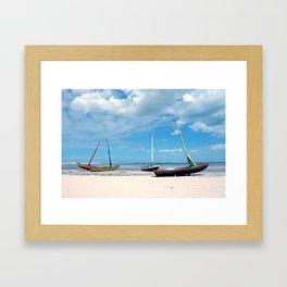 Jeri Boats Framed Art Print