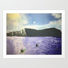Pippin Lake Art Print