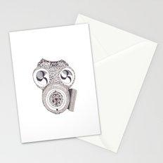 Celtic gasmask Stationery Cards