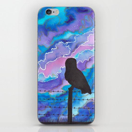 Galaxy Owl iPhone & iPod Skin