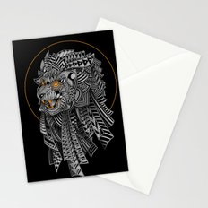 Barbarian Lion Stationery Cards