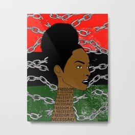 Freed. Metal Print