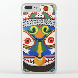 Tribal Art Clear iPhone Case