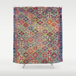 Afshar Varamin North Persian Rug Shower Curtain