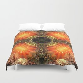 Manifest Sacred Flame Activation Duvet Cover