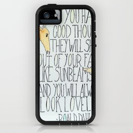 Good Thoughts iPhone Case