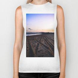 Beach Sunset Biker Tank