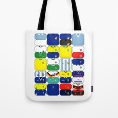 World In Motion III Tote Bag