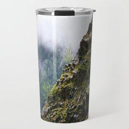 Rocky Cliff Face Travel Mug