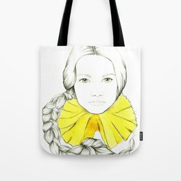 Frill Neck Lady Tote Bag