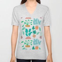 Houseplant Garden Unisex V-Neck