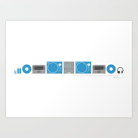 The Perfect Setup Art Print