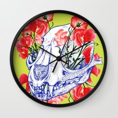 Deathvslife5 Wall Clock