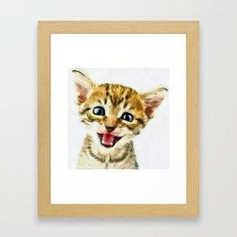 GoofBall Framed Art Print