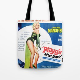 Vintage British Film Poster - Too Hot to Handle (1960) Tote Bag