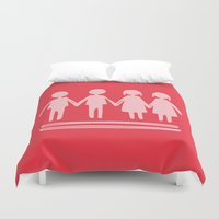 equality Duvet Covers featuring Equality Love by MaJoBV
