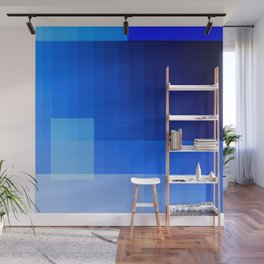 must be blue Wall Mural