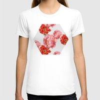 vintage floral T-shirts featuring vintage floral by cardboardcities