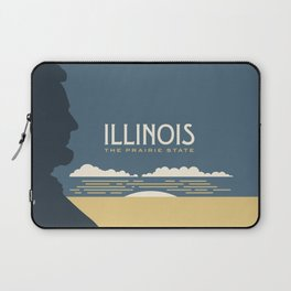 Illinois - Redesigning The States Series Laptop Sleeve