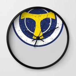 Taskmaster - Shield Skills Wall Clock