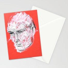 Dmitriy's head Stationery Cards