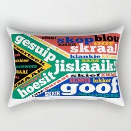 South African slang and colloquialisms Rectangular Pillow