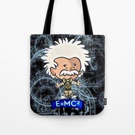 Tiny Einstein Tote Bag