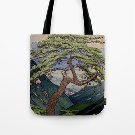 The Downwards Climbing Tote Bag