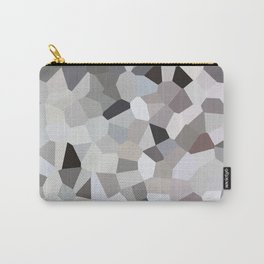 Black White Blue Sky Carry-All Pouch