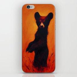 Ursidae Infantem Saevus (bear cub rage) iPhone Skin