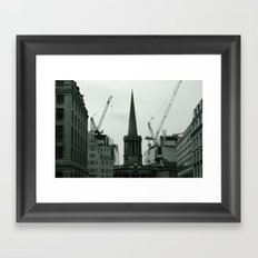 'All Souls Church' Framed Art Print