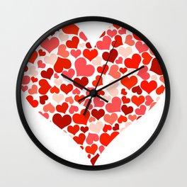 Heart 2014-0703 Wall Clock