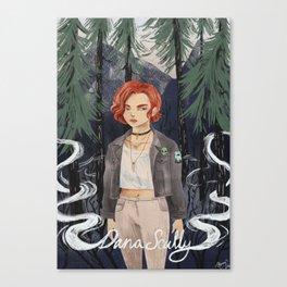 90s Dana Scully Canvas Print