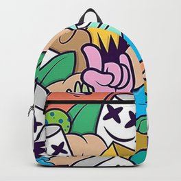 Marshmello meme Backpack
