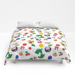 Animal Icons Comforters