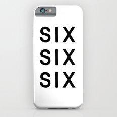 SIX SIX SIX Slim Case iPhone 6s