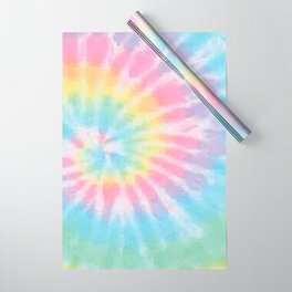 Pastel Tie Dye Wrapping Paper