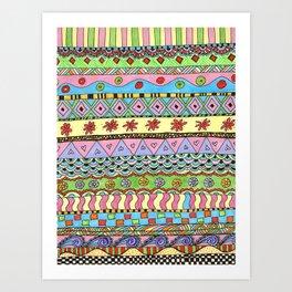Candystripes Art Print