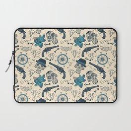 Pirate pattern Laptop Sleeve
