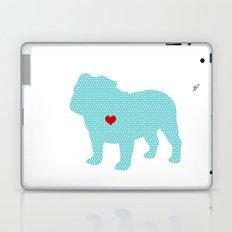 English Bull Dog Art Laptop & iPad Skin