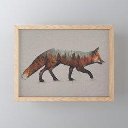 The Red Fox Framed Mini Art Print