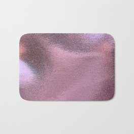 beautiful pink foil Bath Mat